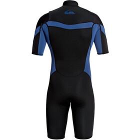 Quiksilver 2/2 Syncro Chest Zip SS Springsuit FLT Men black black/iodine blue iodine